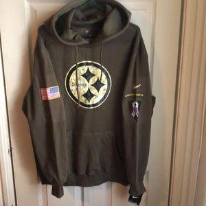 Nike Hoodie Salute to Service Pittsburgh Steelers
